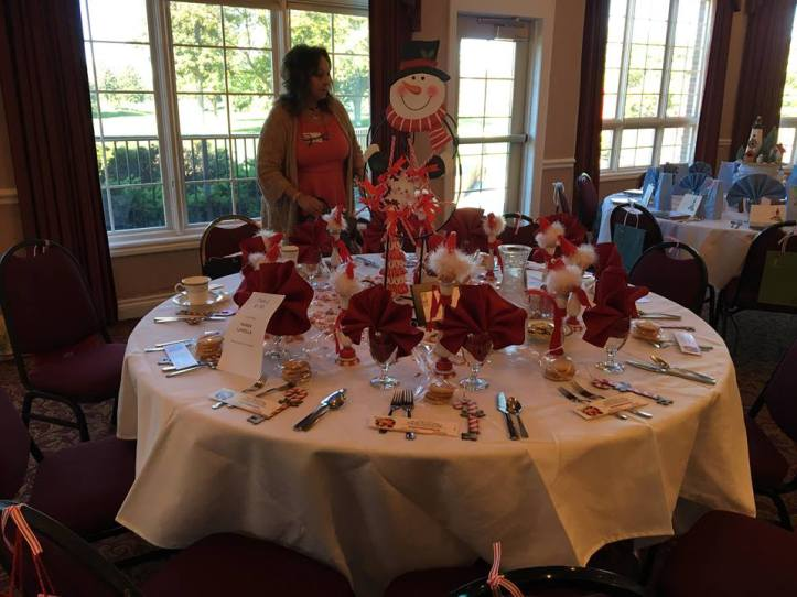 2016 Lunceon table